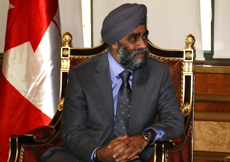 Harjit Sajjan has announced that Canada will end air strikes targeting the Islamic State group in Iraq and Syria and bring home its six fighter jets