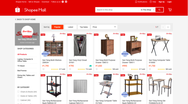 online furniture stores in the philippines - san yang furniture