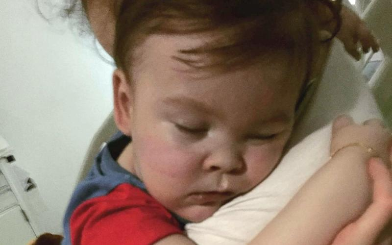 Alfie Evans has a terminal brain condition - PA