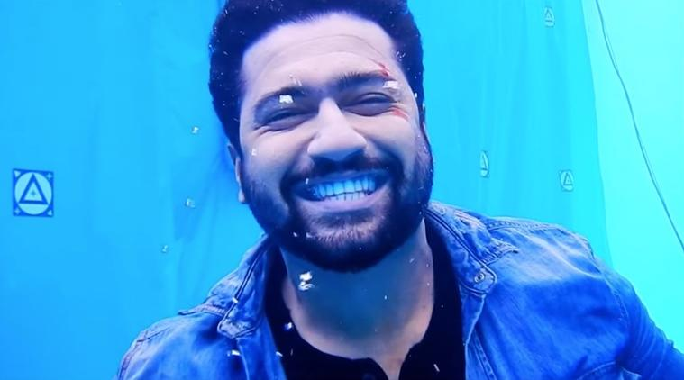bhoot behind the scenes video vicky kaushal