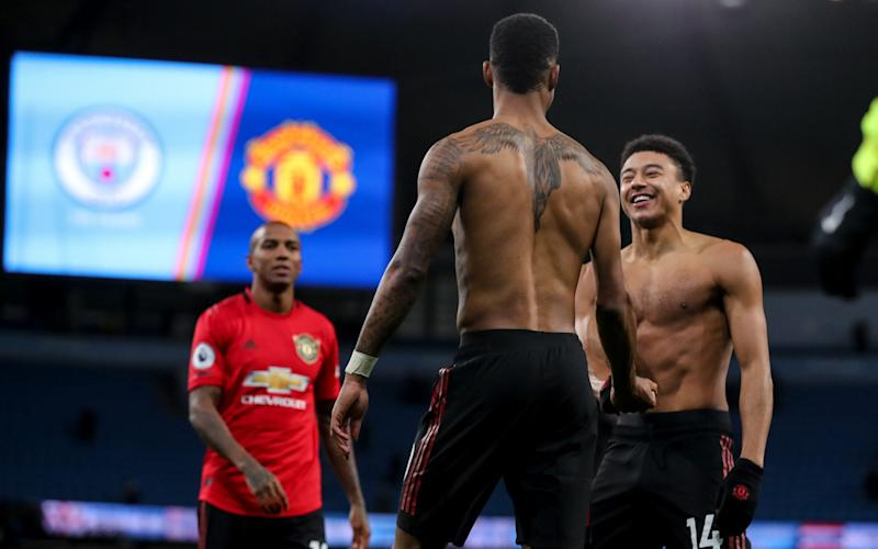 Manchester United made a huge statement with victory over Man City at The Etihad - Getty Images Europe
