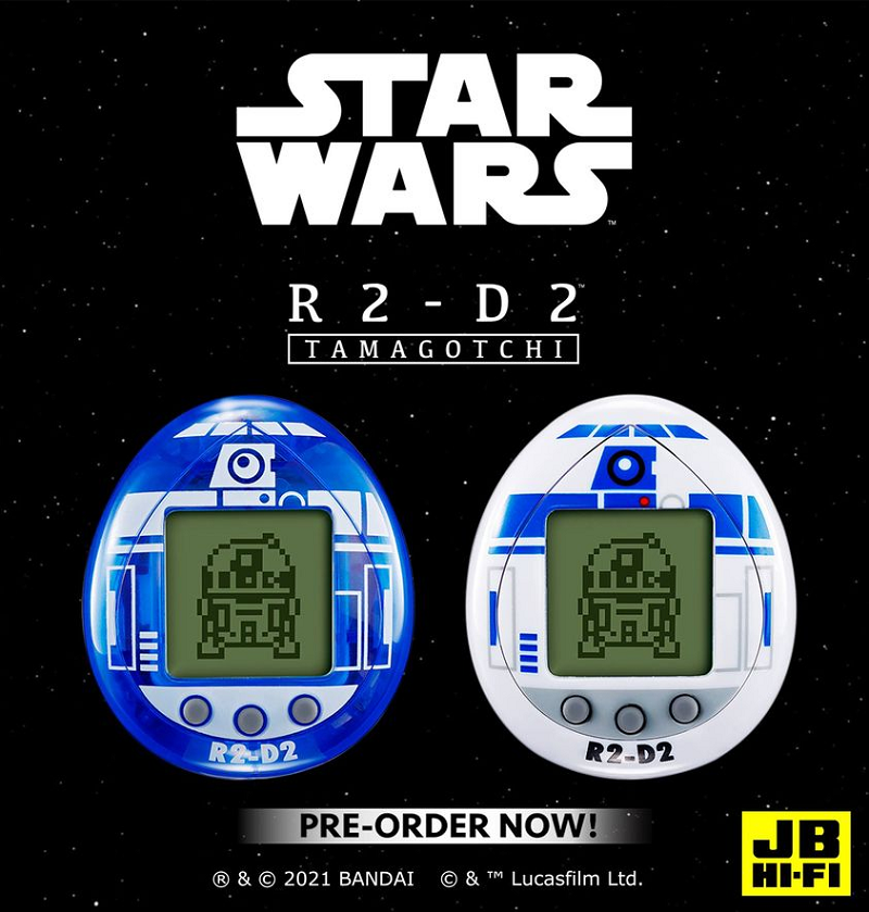 Tamagotchi's two R2-D2 editions available in November. ― Picture via Facebook/JB.Hi.Fi.NZ.Official