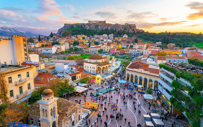 Mainland Greece is still on the cards for holidaymakers from England and Wales
