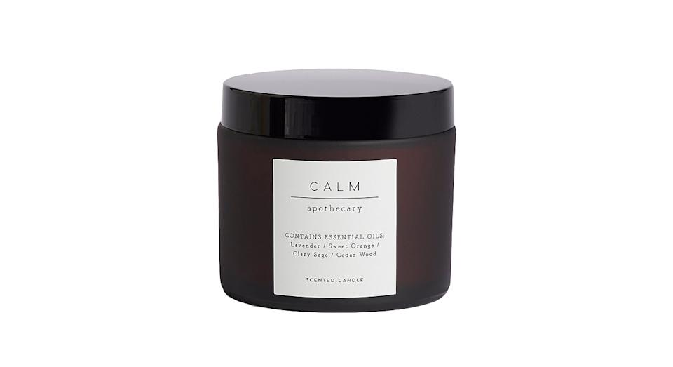Calm Single Candle