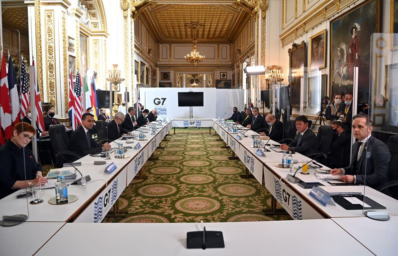 G7 foreign ministers meeting in London
