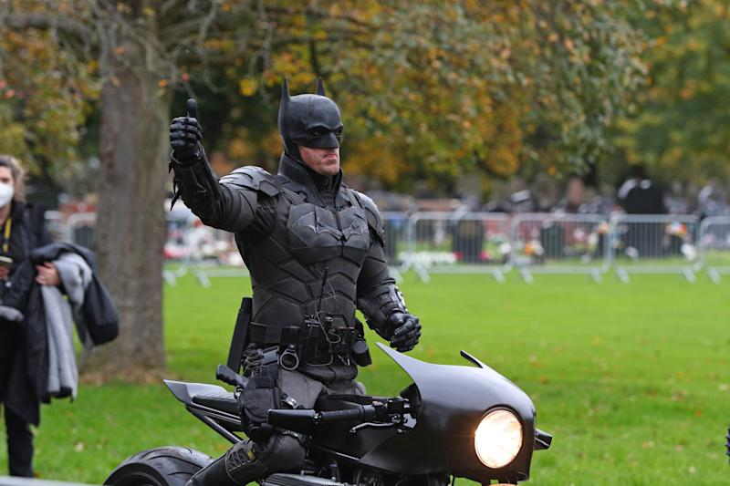 'The Batman' is currently filming in Liverpool. (Credit: PA)