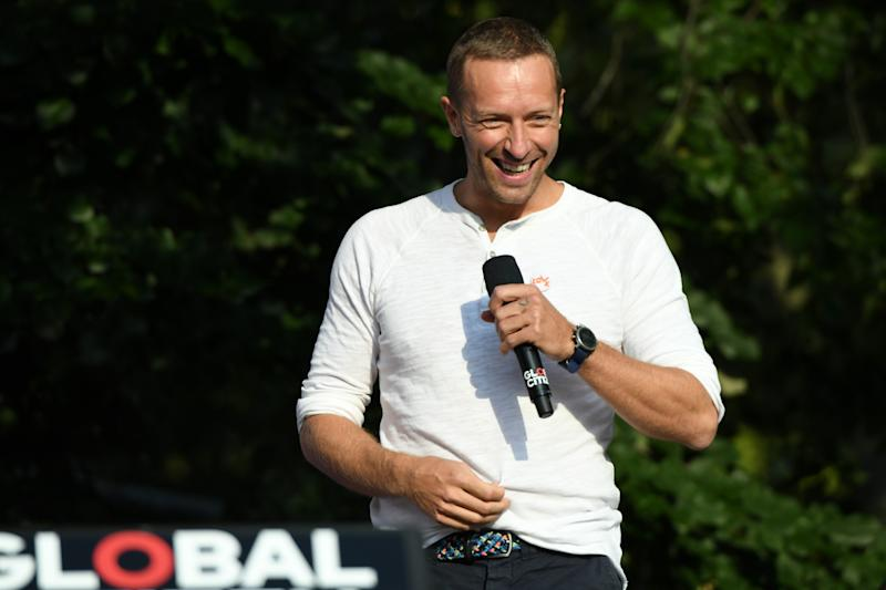 NEW YORK, NY - SEPTEMBER 29: Singer-songwriter Chris Martin performs onstage during the 2018 Global Citizen Concert at Central Park, Great Lawn on September 29, 2018 in New York City. (Photo by Michael Kovac/FilmMagic)