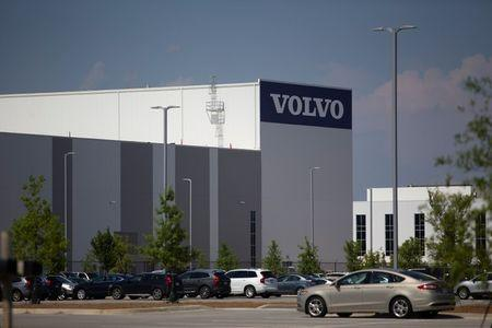 Volvo Cars U.S. production plant is pictured in Ridgeville, South Carolina, U.S. June 20, 2018.  REUTERS/Randall Hill