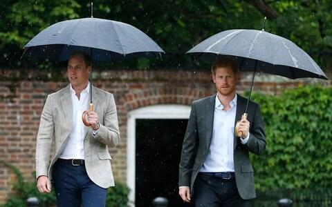 Prince William and Prince Harry - Credit: AP Photo/Kirsty Wigglesworth