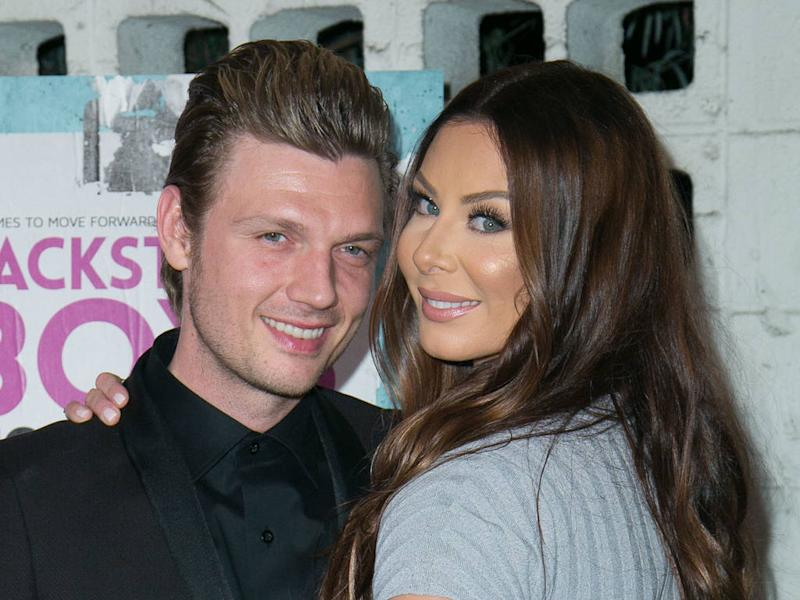 Nick Carter is a father of two