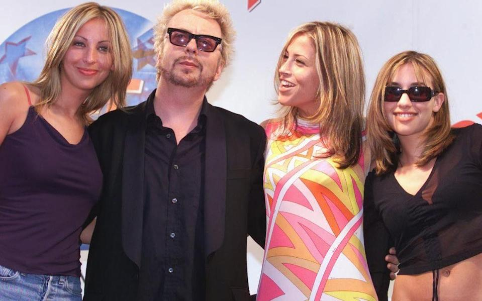 All Saints and Dave Stewart promoting Honest in Cannes - Stephen Lock