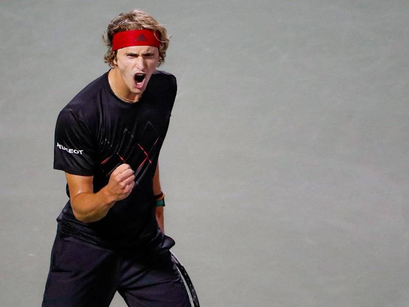 Will Alexander Zverev step up to the plate? (EPA)