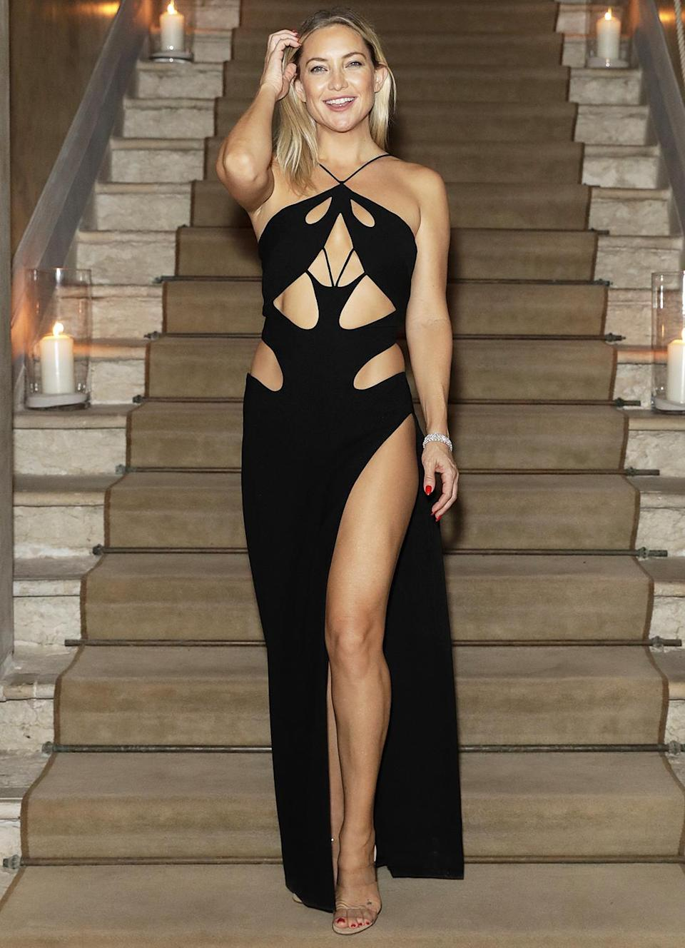 <p>Kate Hudson stands out at the Celebration of Women in Cinema Gala at the 78th Venice International Film Festival in Italy.</p>