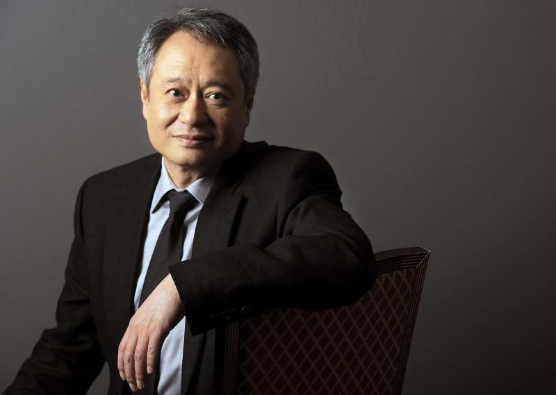 """FILE - This April 26, 2012 file photo shows Ang Lee posing for a portrait backstage at CinemaCon 2012, the official convention of the National Association of Theater Owners in Las Vegas. Lee is the director the the film, """"Life of Pi."""" (AP Photo/Chris Pizzello, file)"""