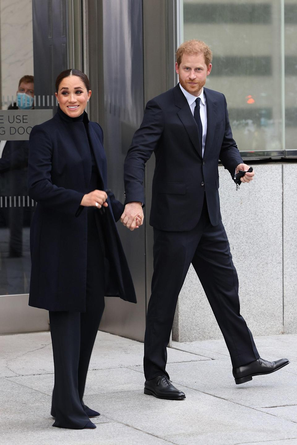 """<h1 class=""""title"""">The Duke And Duchess Of Sussex Visit One World Observatory With NYC Mayor Bill De Blasio</h1><cite class=""""credit"""">Taylor Hill/Getty Images</cite>"""