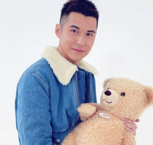 A teddy bear for his soon intended girlfriend perhaps