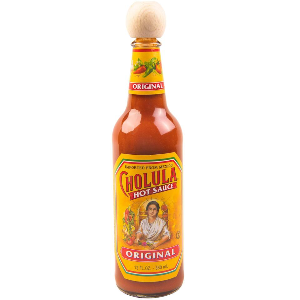 "<p><strong>Cholula</strong></p><p>walmart.com</p><p><strong>$5.42</strong></p><p><a href=""https://go.redirectingat.com?id=74968X1596630&url=https%3A%2F%2Fwww.walmart.com%2Fip%2F10291827&sref=https%3A%2F%2Fwww.delish.com%2Fkitchen-tools%2Fg36080045%2Fbest-mexican-hot-sauces%2F"" rel=""nofollow noopener"" target=""_blank"" data-ylk=""slk:BUY NOW"" class=""link rapid-noclick-resp"">BUY NOW</a></p><p>Cholula carefully selects its peppers and signature spices to accomplish the correct amount of fiery heat and tangy flavor on your dishes. Every bottle will have the same look and flavor down to the signature wooden cap. </p>"