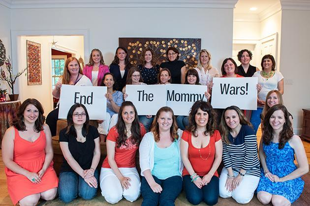 "<div class=""caption-credit""> Photo by: Jean Molodetz/I View Photography</div>""We just have to do what's best for ourselves and our own families,"" said CT Working Moms founder Michelle Noehren, front center, ""and not care what other people think about our choices."" <br>"