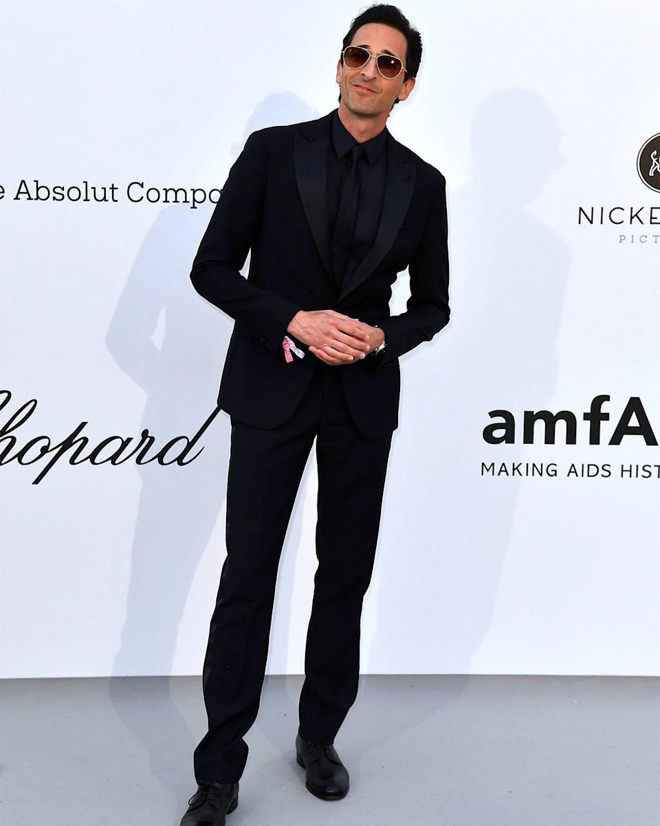 """<h1 class=""""title"""">May 23: Adrien Brody</h1> <div class=""""caption""""> We should all aspire to feel as content in black tie as Adrien Brody seems to. </div> <cite class=""""credit"""">Getty Images</cite>"""