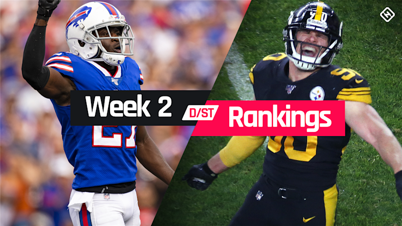 Week 2 Fantasy Defense Rankings: Sleepers, busts, waiver-wire D/ST streamers to target