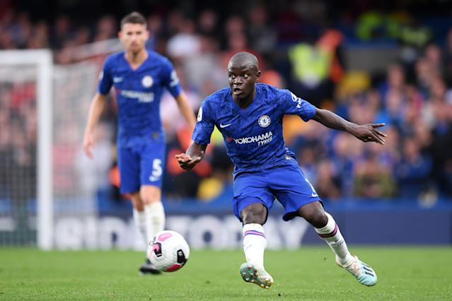 N'Golo Kante scored Chelsea's goal on 70 minutes. (Credit: Getty Images)