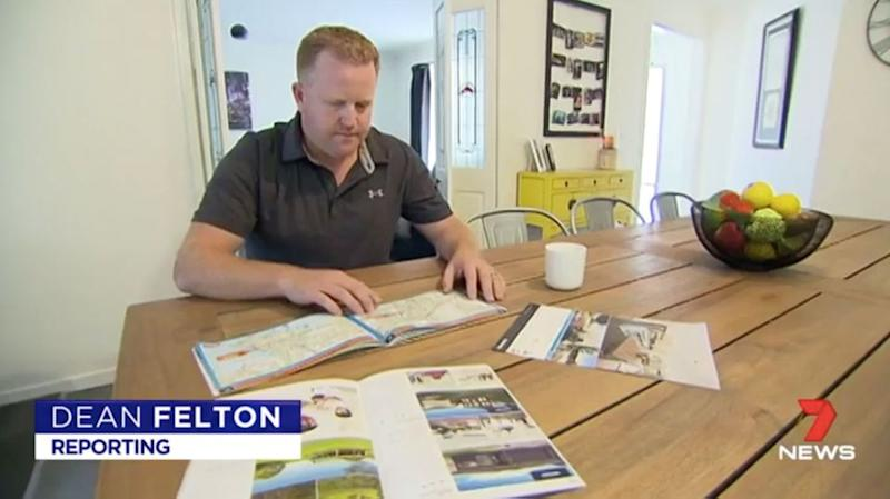 Josh Hannaford already owns his own home outright. Source: 7 News