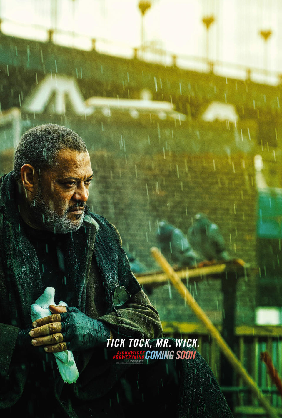 <p>John Wick's mate returns, which means we'll get some more of the Reeves / Fishburne chemistry we so loved in the Matrix movies. </p>
