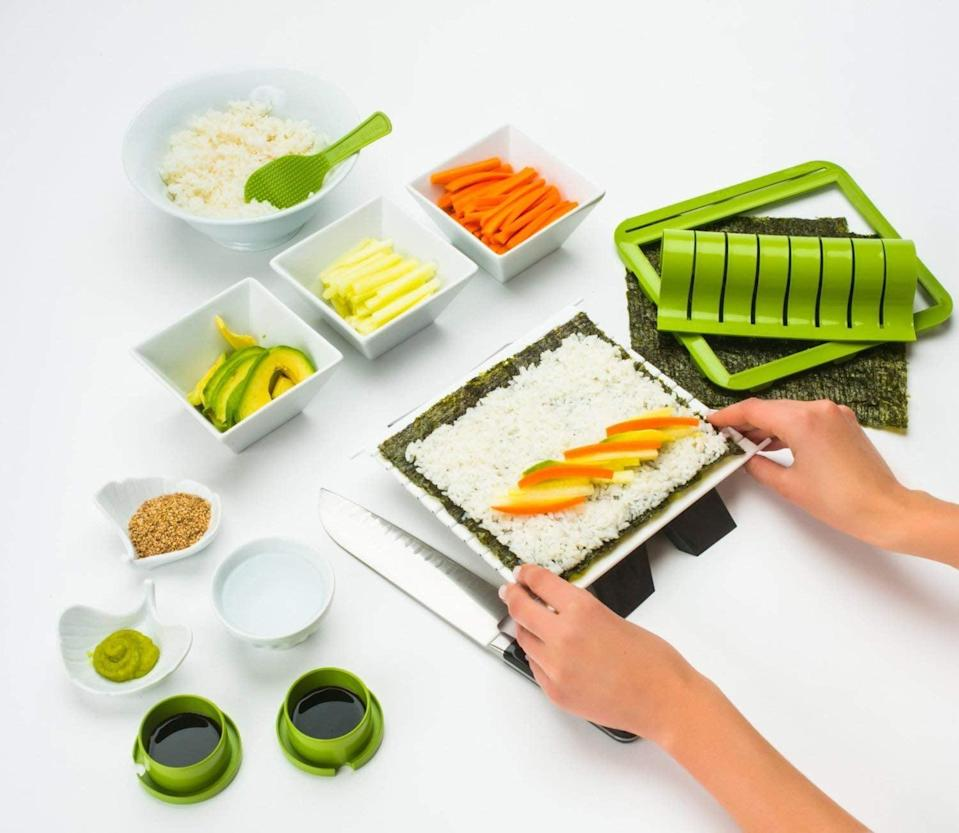 <p>This <span>Sushi Making Kit</span> ($40) could turn into a cool project for someone who wants to learn how to make their favorite dish.</p>