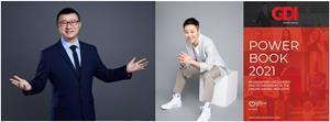 Baoli Ma (left) and Ze Ye (center) were recognized on GDI's renowned online dating industry listing