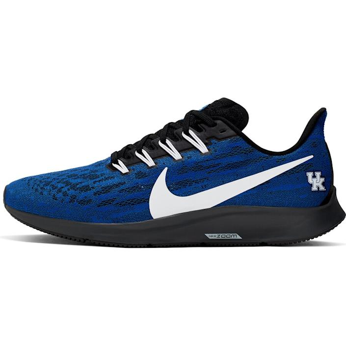 Men's Nike Royal/White Kentucky Wildcats Air Zoom Pegasus 36 Sneakers