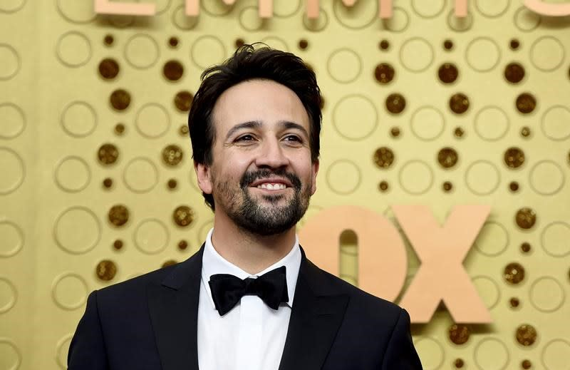 Actor Lin-Manuel Miranda encourages shopping small