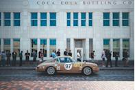 <p>The paint colors at Luftgekühlt shows do not disappoint. Like the Sand Beige on this 1967 911. The car was purchased new and raced by Hans Niederer at a six-hour endurance race at Watkins Glen and again at the Pocono 500 Miles. The original engine has been stored and replaced by a custom-built 2.0-liter with stronger components. It's an incredible vestige of 1960s road racing. Plus, it looks a helluva lot cooler than today's Honda CR-V and Jeep Gladiator with similar paint.</p>