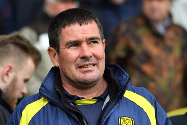 Nigel Clough's Burton were beaten at home (Anthony Devlin/PA)