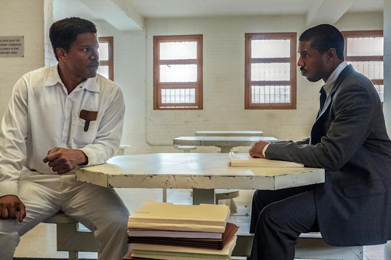 Michael B. Jordan and Jamie Foxx shine in death row drama Just Mercy