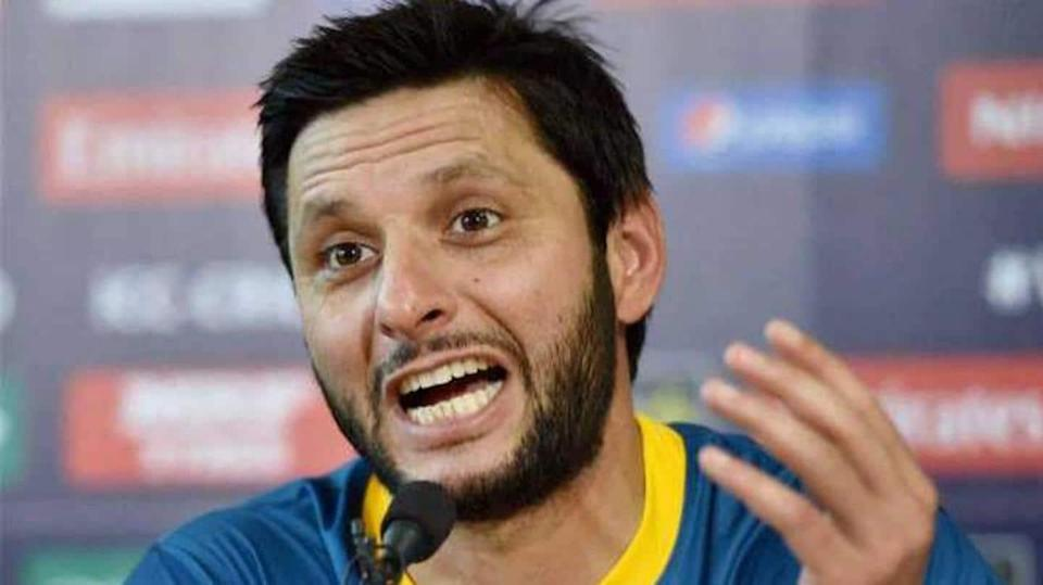 Former Pakistan all-rounder Afridi draws criticism for statement on Taliban