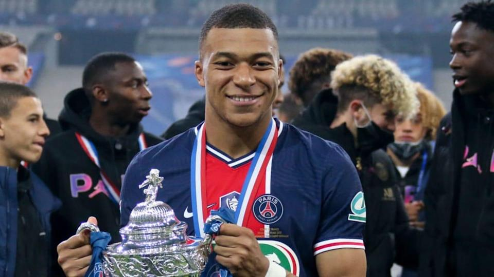 Kylian Mbappe   John Berry/Getty Images