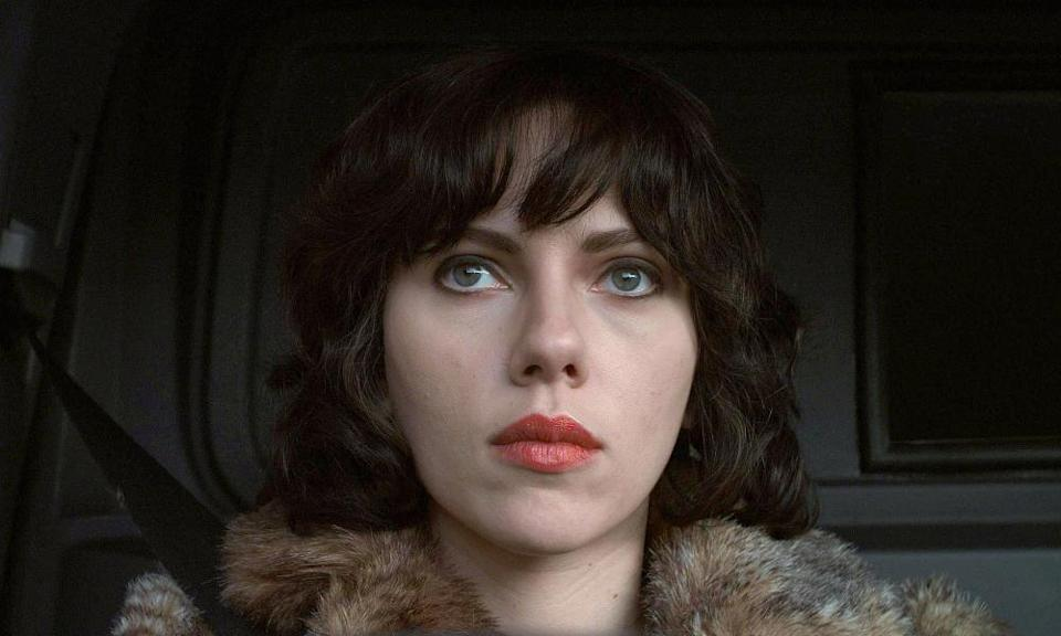 Scarlett Johansson in the 2013 film adaptation of Under the Skin.