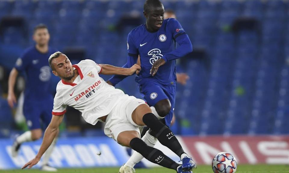 N'Golo Kanté has struggled for form and fitness and given Lampard a headache over who to play in Chelsea's central midfield.
