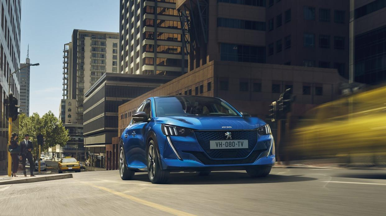 The 208 will be available in petrol, hybrid and all-electric powertrains