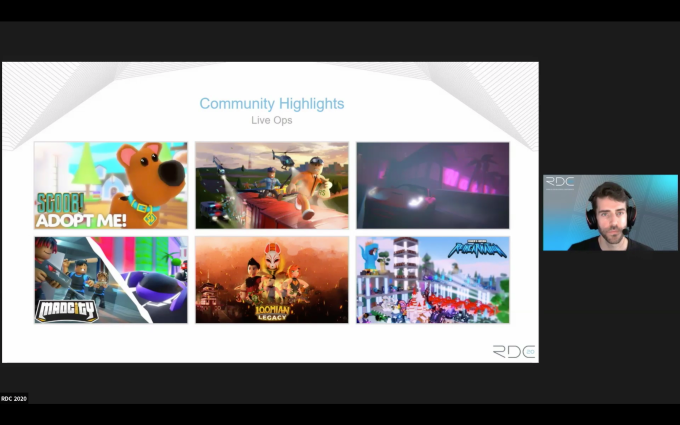 Liveops Event Roblox Roblox Jumps To Over 150m Monthly Users Will Pay Out 250m To Developers In 2020