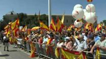 Spain's right rallies against plan to pardon Catalan separatists