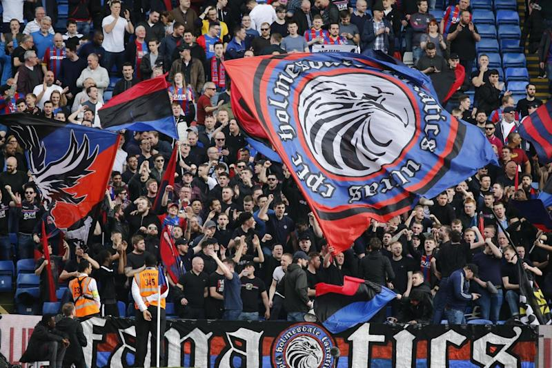 Holmesdale Fanatics: The group are known for their vocal support and colourful displays (AFP/Getty Images)