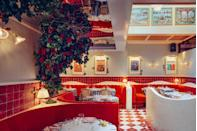 <p>This latest addition to the Big Mamma Group family (of Gloria and Circolo Popolare fame) opened in July and is an ode to Florence. There are two ivy-filled terraces and yes, the Insta-worthy tableware is available throughout. Remember to take a selfie in the rainbow neon toilets.</p>