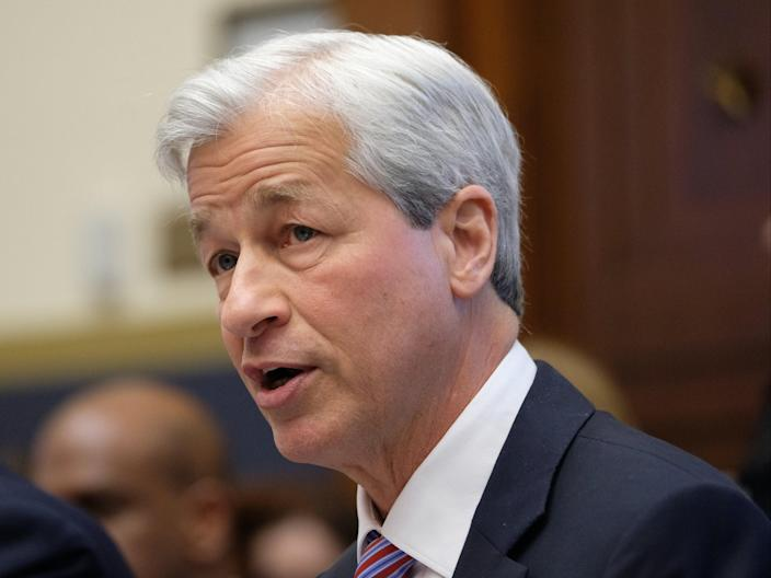 <p>Jamie Dimon explained he is fed up with the system of remote working brought on by the pandemic</p> (Getty Images)