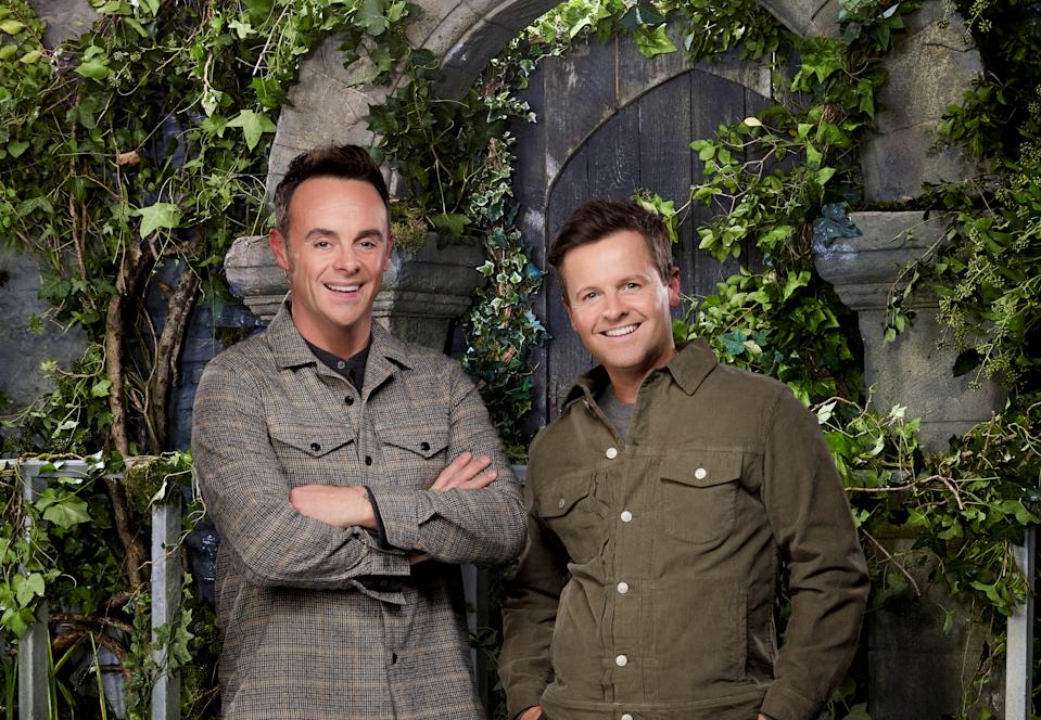 Ant McPartlin and Declan Donnelly are hosting 'I'm A Celeb' from a castle in north Wales this year. (ITV)