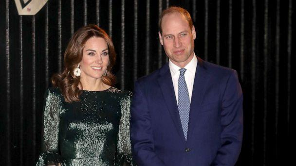 PHOTO: Prince William, Duke of Cambridge and Catherine, Duchess of Cambridge, arrive at a reception at the Guinness Storehouse in Dublin, March 3, 2020. (Chris Jackson/Getty Images)