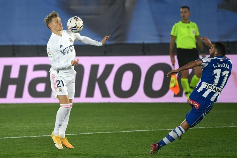 Real Madrid's Martin Odegaard has joined Arsenal on loan.