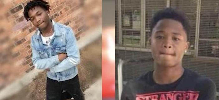 19-year-old Dewayne Reed (left) and 17-year-old Sa'Quan Reed (right) were killed in a shooting at a Sacramento, California mall while Black Friday shopping on Nov. 27, 2020. (via KCRA-TV)