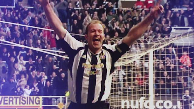 Description: In 441 Premier League appearances for Newcastle and Blackburn, Alan Shearer scored a PL record 260 goals.