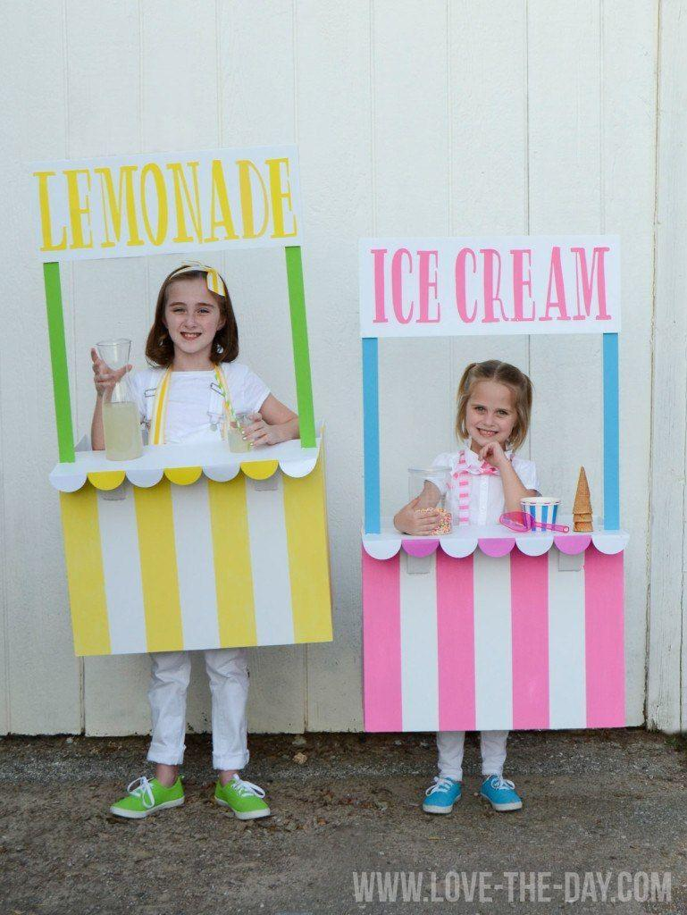 """<p>Bring your own """"treat"""" to trick-or-treating with these sweet sister costumes.</p><p><strong>Get the tutorial at <a href=""""https://love-the-day.com/costume-ideas-for-kids-lemonade-and-ice-cream-stands"""" rel=""""nofollow noopener"""" target=""""_blank"""" data-ylk=""""slk:Love the Day"""" class=""""link rapid-noclick-resp"""">Love the Day</a>.</strong></p><p><strong><a class=""""link rapid-noclick-resp"""" href=""""https://www.amazon.com/ELMERS-Guide-Line-Boards-2-Count-905100/dp/B00125KOIK/ref=dp_fod_1?tag=syn-yahoo-20&ascsubtag=%5Bartid%7C10050.g.21530121%5Bsrc%7Cyahoo-us"""" rel=""""nofollow noopener"""" target=""""_blank"""" data-ylk=""""slk:SHOP FOAM BOARDS"""">SHOP FOAM BOARDS</a></strong></p>"""